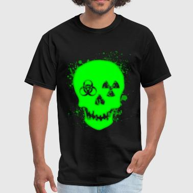 Toxic Skull - Men's T-Shirt