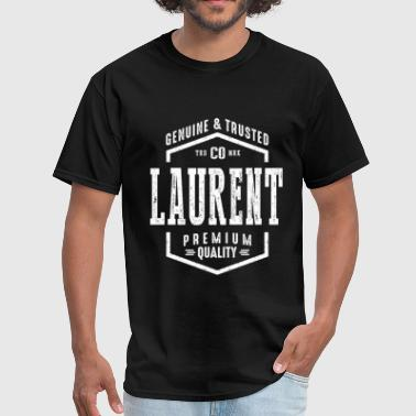 Laurent Laurent Name - Men's T-Shirt