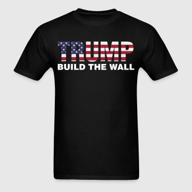 Trump Build The Wall Pro Election President - Men's T-Shirt