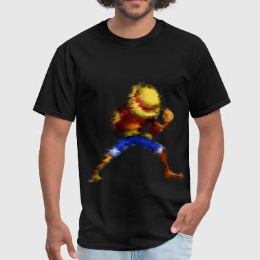 Luffy Pixelated - Men's T-Shirt