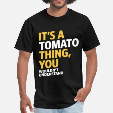 Cartoon Tomato Tomato Thing - Men's T-Shirt