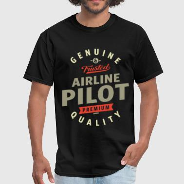 Airline Pilot - Men's T-Shirt