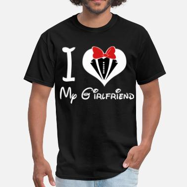 Girlfriend i_love_my_girlfriend - Men's T-Shirt