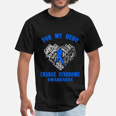 Charge For my hero charge syndrome awareness - Men's T-Shirt
