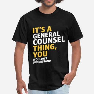 General Counsel Funny General Counsel - Men's T-Shirt
