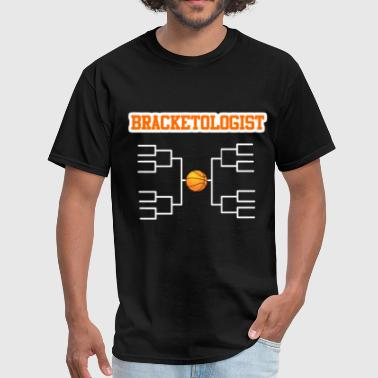 BRACKETOLOGIST Sports Bracket Science Basketball - Men's T-Shirt