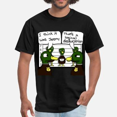 Punny Ducktectives - Men's T-Shirt