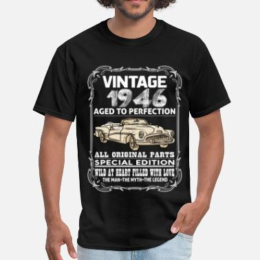 1946 VINTAGE 1946-AGED TO PERFECTION - Men's T-Shirt