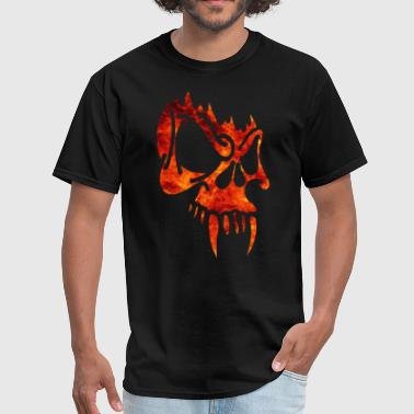 Fire Skull Fire Skull - Men's T-Shirt