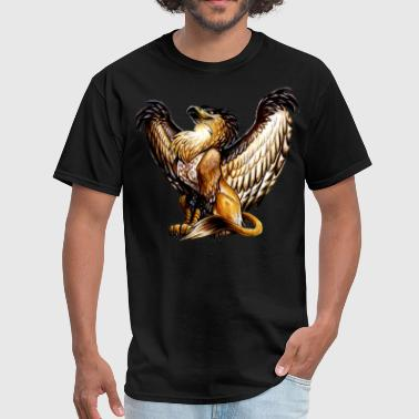 griffin mythical creature - Men's T-Shirt