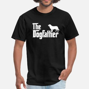 Flat-coated Retriever Flat Coated Retriever DogFather T-Shirt - Men's T-Shirt