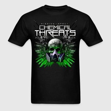 CHEMICAL THREATS MASS WEAPONS SHIRT - Men's T-Shirt