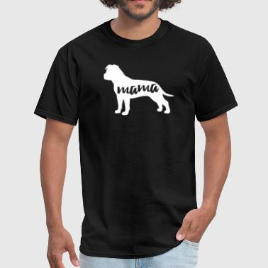 Amstaff Dog Mama T-Shirt - Men's T-Shirt