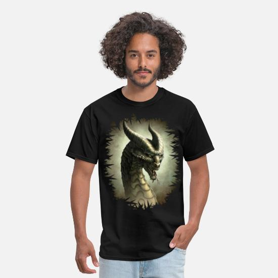 Art T-Shirts - Dragon rpg - Men's T-Shirt black