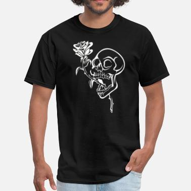 Skull Rose Skull & Rose - Men's T-Shirt