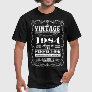 Premium Vintage 1984 Aged To Perfection - Men's T-Shirt