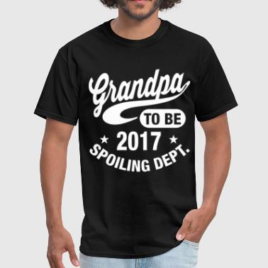 Grandpa To Be 2017 - Men's T-Shirt