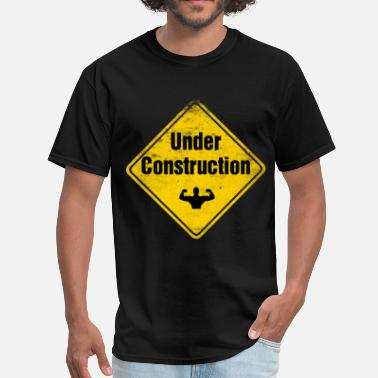 Gym under_construction_t-shirt - Men's T-Shirt