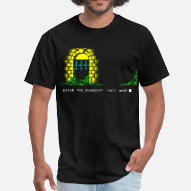 Pixels Dungeon Dare! - Men's T-Shirt