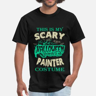 Dinky Painter - This is my scary halloween costume tee - Men's T-Shirt