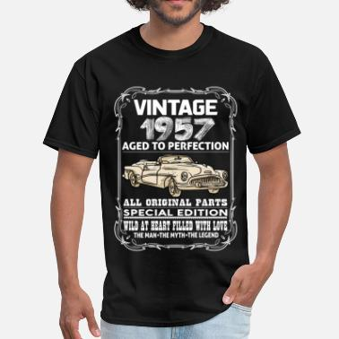 1957 Aged To Perfection VINTAGE 1957-AGED TO PERFECTION - Men's T-Shirt