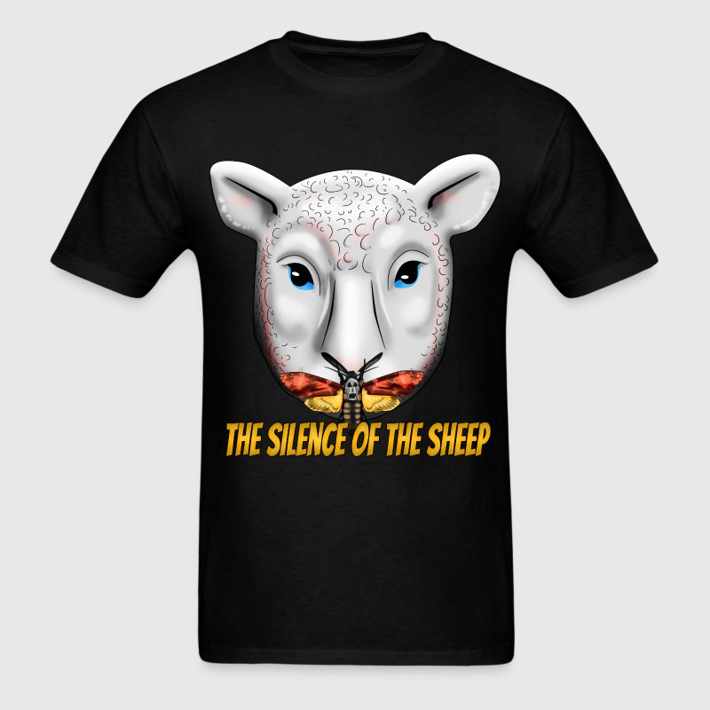 The Silence of the Sheep - Men's T-Shirt