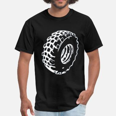 Car Wheel wheel - Men's T-Shirt
