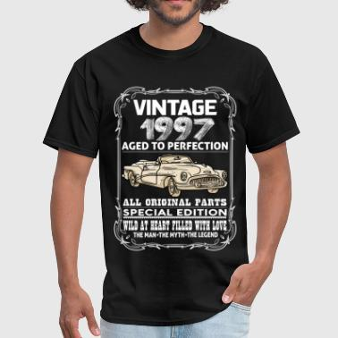 VINTAGE 1997-AGED TO PERFECTION - Men's T-Shirt