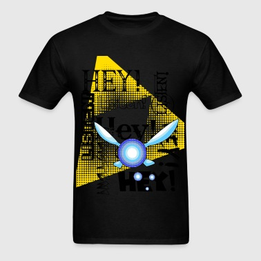 hey listen!  - Men's T-Shirt