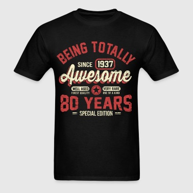 80 Years Of Being Awesome - Men's T-Shirt