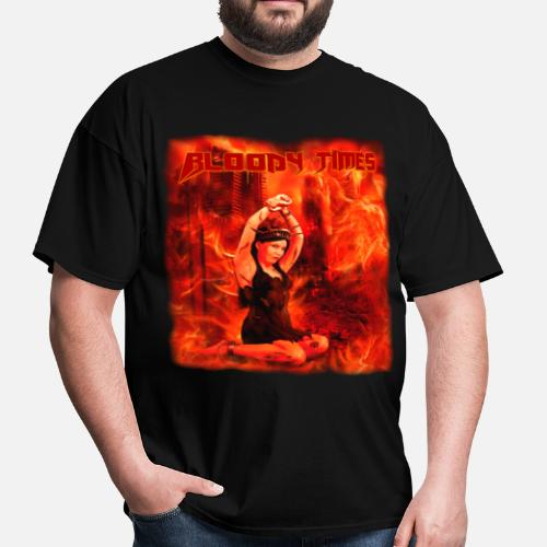 Bloody Times The Fire Of Immortality Mens T Shirt Spreadshirt