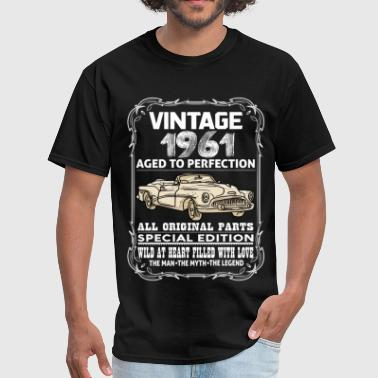 VINTAGE 1961-AGED TO PERFECTION - Men's T-Shirt
