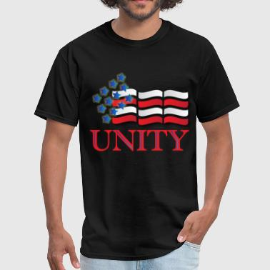 Black Unity unity - Men's T-Shirt