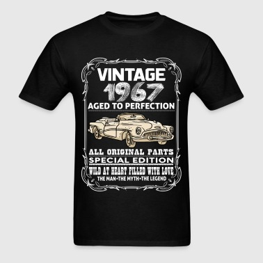 VINTAGE 1967-AGED TO PERFECTION - Men's T-Shirt