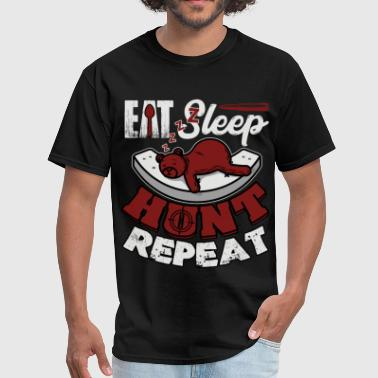 Eat Sleep Hunt Repeat T Shirt - Men's T-Shirt