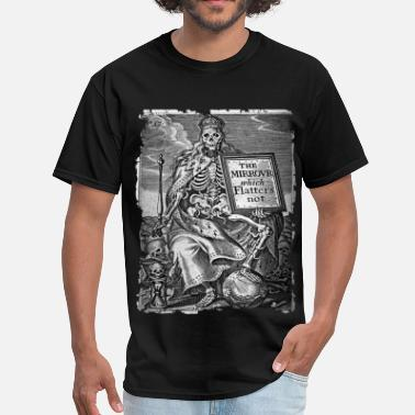 Memento DEATH AS KING b&w - OCCULT STYLE - Men's T-Shirt