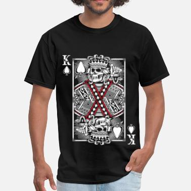 Heart King King Of Hearts - Men's T-Shirt
