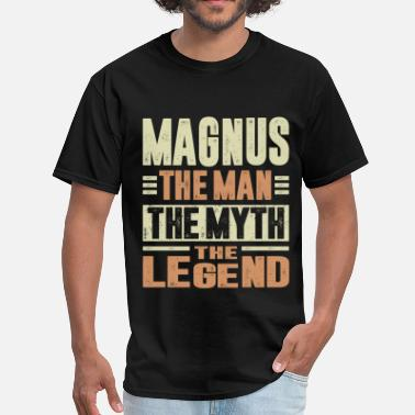 Magnus Magnus The Man - Men's T-Shirt