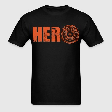 Hero Firefighter - Men's T-Shirt