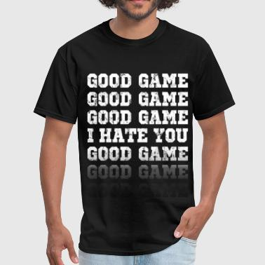 Hate Football good_game_funny - Men's T-Shirt