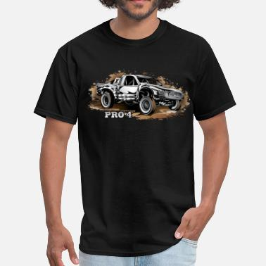 Off-road Racing Pro4 Race Truck White - Men's T-Shirt