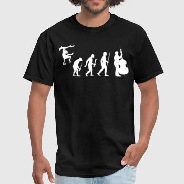 Evolution of Double Bass - Men's T-Shirt