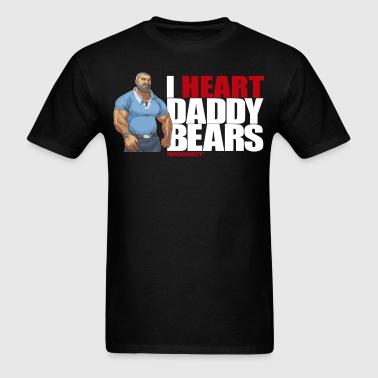 I Heart Daddy Bears 2 - Men's T-Shirt