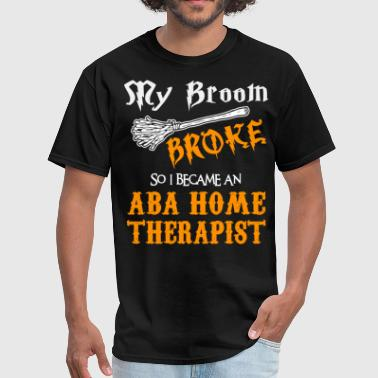ABA Home Therapist - Men's T-Shirt