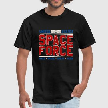 United States Space Force -Make Space Great Again - Men's T-Shirt