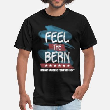 Bernie 2016 Feel The Bern - Men's T-Shirt