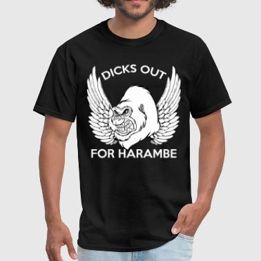 Dicks Out For Harambe - Men's T-Shirt