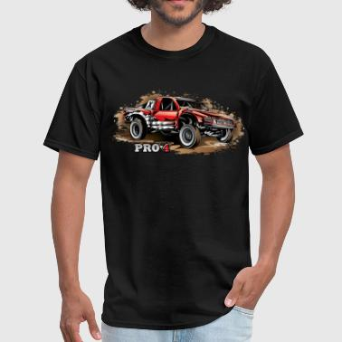 Pro4 Race Truck Red - Men's T-Shirt