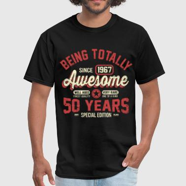 50 Year Old 50 Years Of Being Awesome - Men's T-Shirt