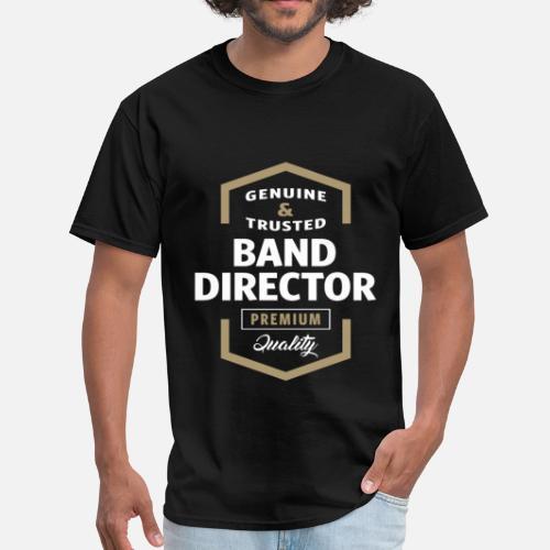 81c27241 Band Director Logo Gift Ideas Mens T Shirt Spreadshirt